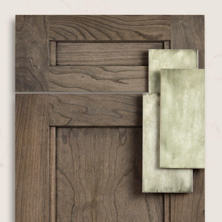 Dura Supreme Avery door style in Cherry with a Harbor stain.