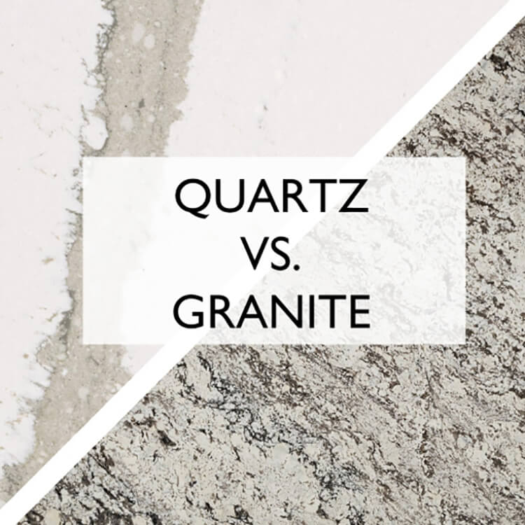Pairing Quartz VS. Granite Countertops with Your Cabinetry